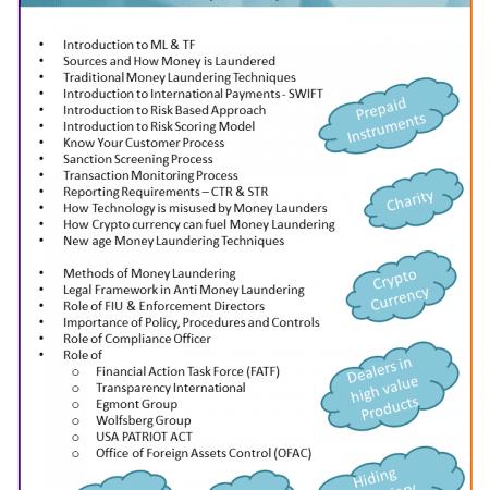 Certified Anti Money Laundering Investigator (CAMI)